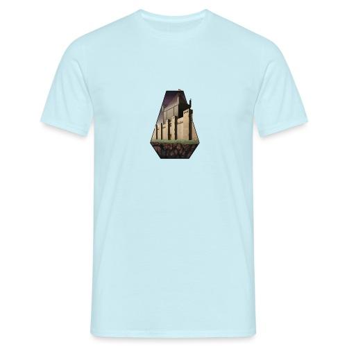 Build & Conquer Center Logo - Men's T-Shirt