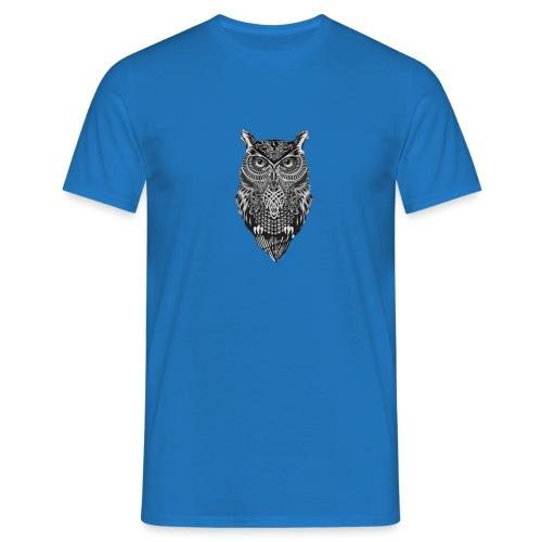 uil_groot - Mannen T-shirt