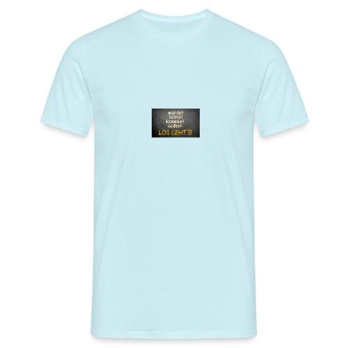 Los geht`s - Männer T-Shirt