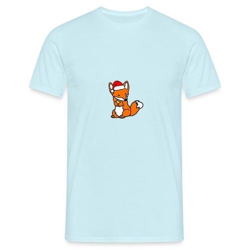 Weihnachtsfuchs - Männer T-Shirt