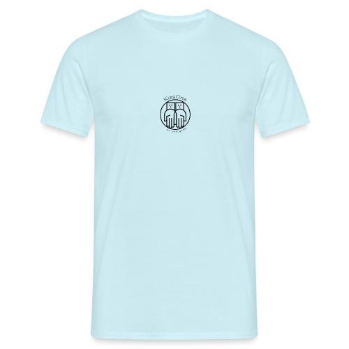 Kiss One logo wireframe - Men's T-Shirt