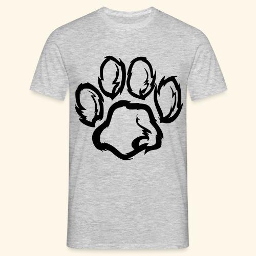 Pfote - Männer T-Shirt