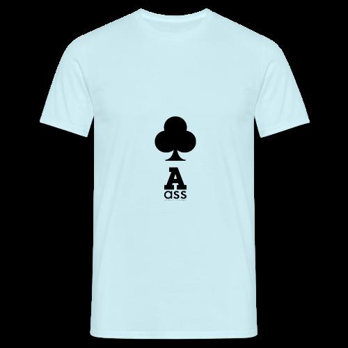 KREUZ ASS - Männer T-Shirt