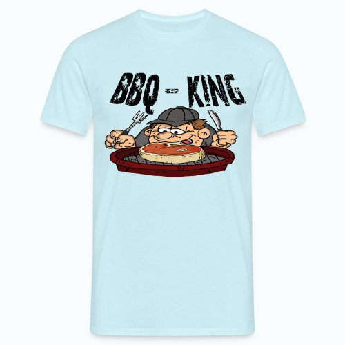 bbqgrillproll - Männer T-Shirt