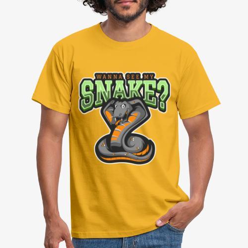 Wanna see my Snake III - Miesten t-paita