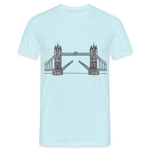 Tower Bridge in London c - Männer T-Shirt