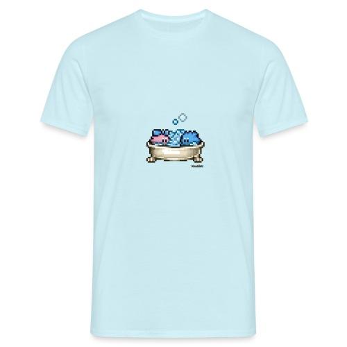 Badewanne - Männer T-Shirt