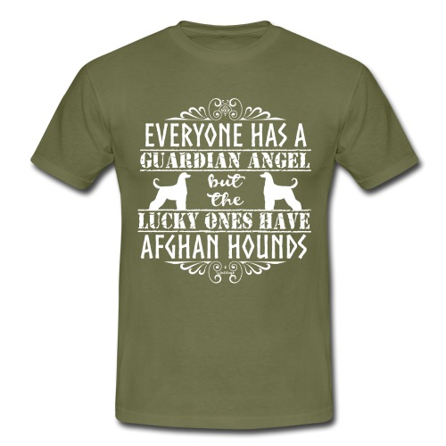 Afghan Hound Angels 2 - Men's T-Shirt