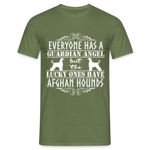 Afghan Hound Angels 2 - Men's T-Shirt