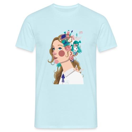 T-Shirt Vie À Saint André 106 - T-shirt Homme
