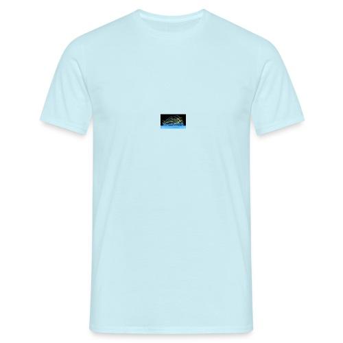 out of body - T-skjorte for menn