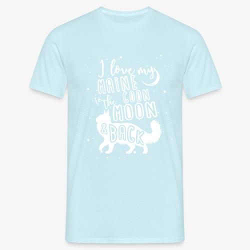 Maine Coon Moon 2 - Miesten t-paita