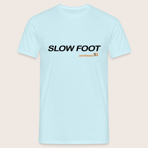 slow foot - Männer T-Shirt