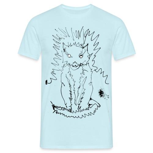 der graue Katzer - Männer T-Shirt