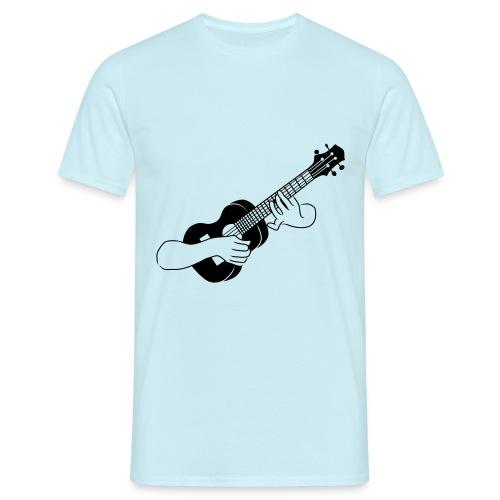 Ukulele - Mannen T-shirt