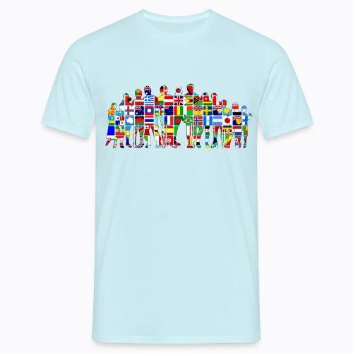 all the world - Men's T-Shirt