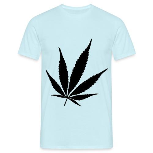 Weed black - Mannen T-shirt