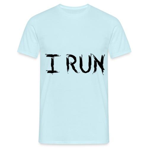 I Run - Männer T-Shirt