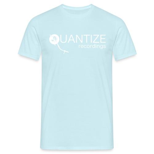 Quantize White Logo - Men's T-Shirt