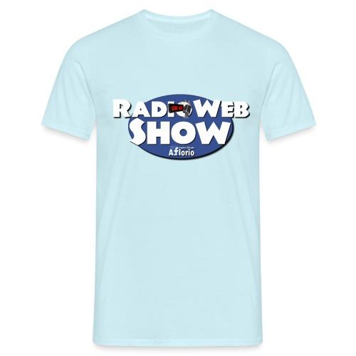 Logo RadioWebShow - Maglietta da uomo