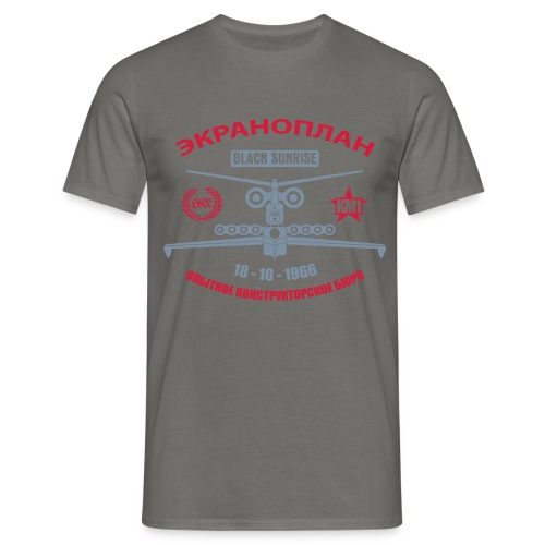 Ekranoplan II - Maglietta da uomo