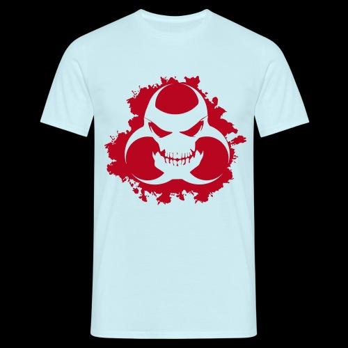 5949097 15672325 blood skull orig - Männer T-Shirt