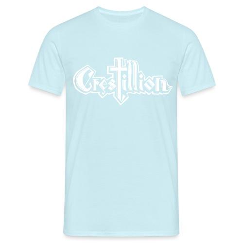 Crestillion Logo transp - Men's T-Shirt