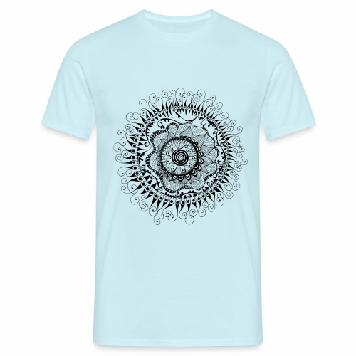 Doodle Spirale - Männer T-Shirt