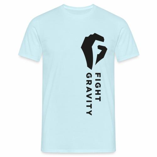 Faust überm Herz - Männer T-Shirt