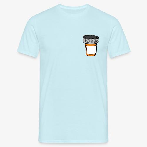 red eyes pillbox - Männer T-Shirt