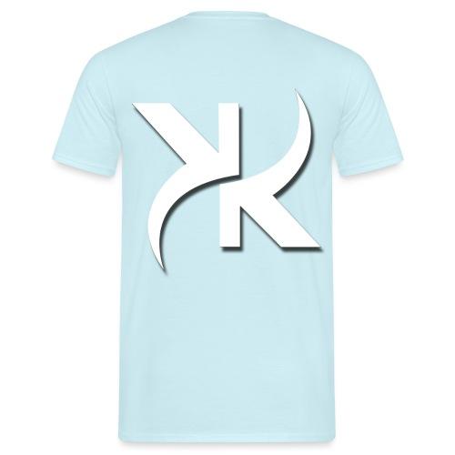 KARL KANE KK WHITE Front & Backprint - Männer T-Shirt