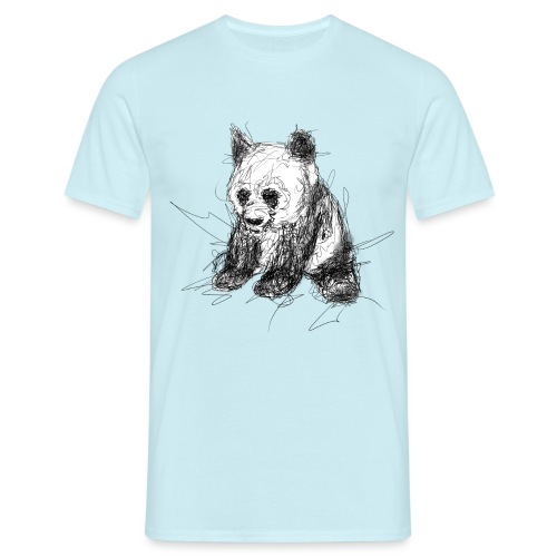 Scribblepanda - Men's T-Shirt