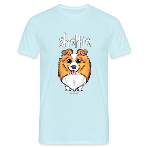 Sheltie Dog Cute 5 - Men's T-Shirt