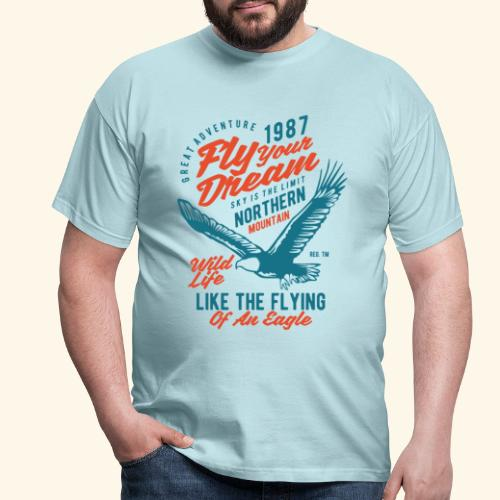 Fly Your Dream - Männer T-Shirt