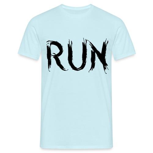 Run - Männer T-Shirt
