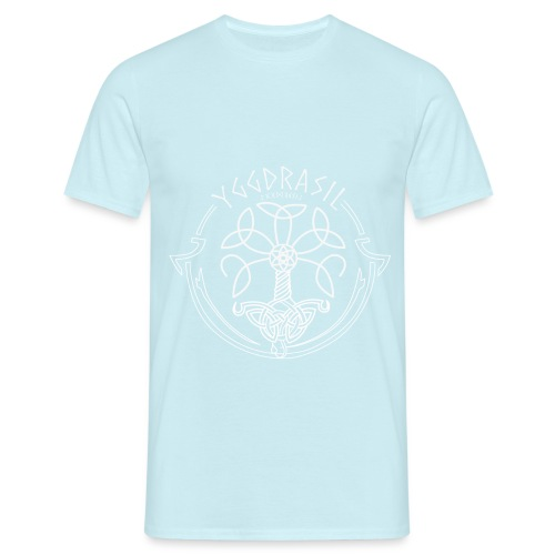 yggdrasil2 white png - Men's T-Shirt