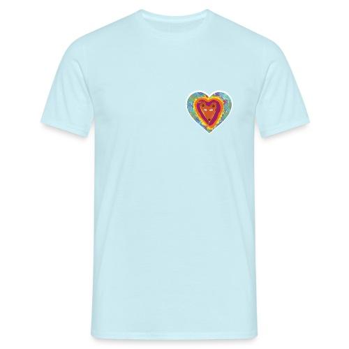 Foxy Heart - Men's T-Shirt