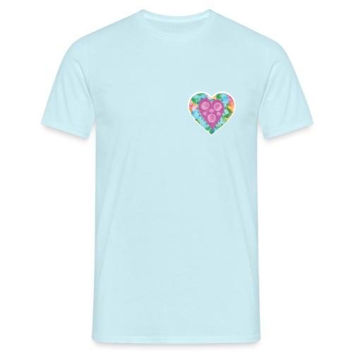 Heart Bubbles make you float - Men's T-Shirt