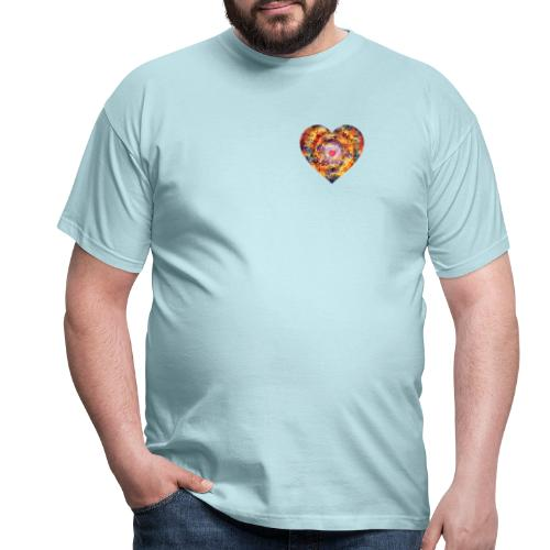 A small big heart of love - Men's T-Shirt