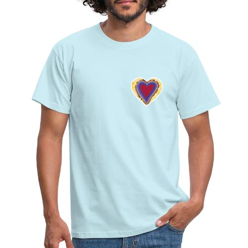 Red heart passion Symbol - Men's T-Shirt