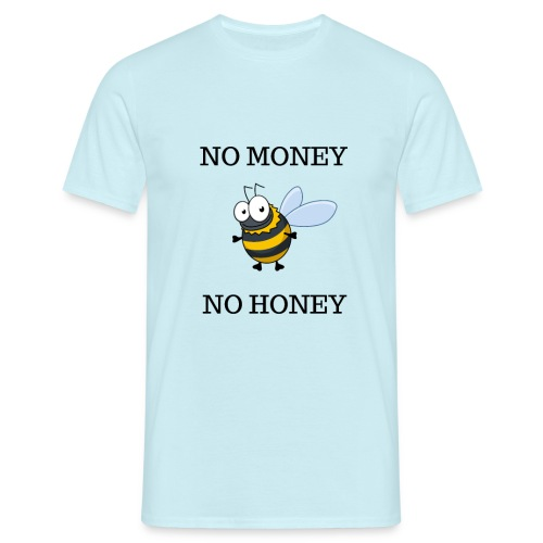 NO MONEY NO HONEY - T-shirt herr
