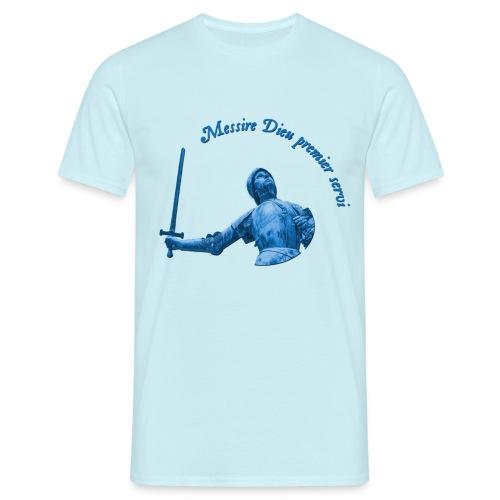 Sainte Jeanne d'Arc - Messire Dieu premier servi - T-shirt Homme
