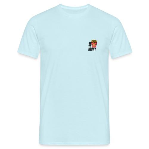 #POMMES-Army Design - Männer T-Shirt