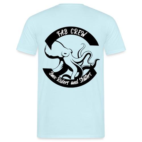 FAB CREW NOIR edition 02 19 - T-shirt Homme