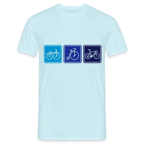 Bike Evolution - Men's T-Shirt