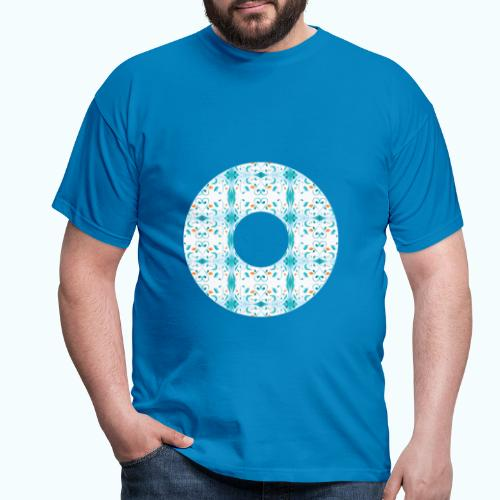 Hippie flowers donut - Men's T-Shirt