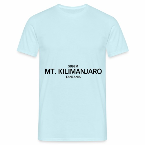 MT. KILIMANJARO - Camiseta hombre