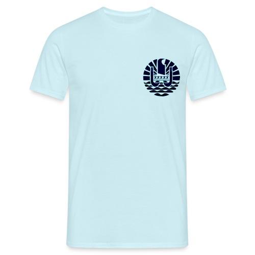 600 FLAG TAHITI 0100 - T-shirt Homme