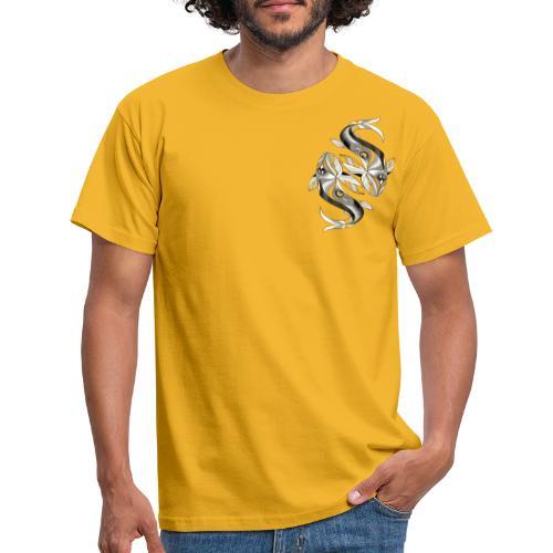 Fische Sternzeichen - Männer T-Shirt