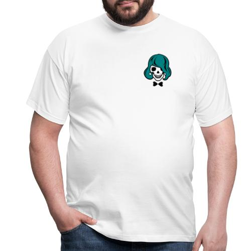 Skelett zum Haare färben - Männer T-Shirt
